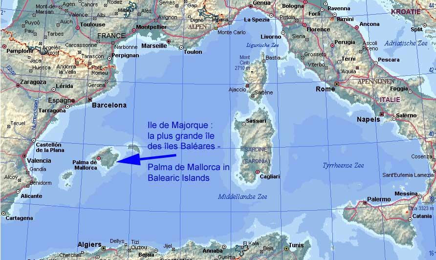 Voyage aux Baleares un bain de soleil au bord de la Mediterranee